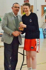 Megan U18 scorer